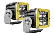 D Series, Dually-Spot Heavy Duty Yellow (Pair)