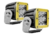 D Series, D2-Wide Heavy Duty Yellow (Pair)