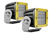D Series, D2-Diffused Heavy Duty Yellow (Pair)