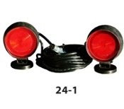 B/A Magnetic Tow Lights, Halogen