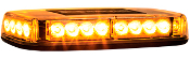 Rec. Amber 24 LED Mini Lightbar, 12-24V