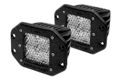 D Series, Dually-Diffused Flush Mount (Pair)