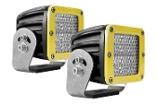 D Series, Dually-Diffused Heavy Duty Yellow (Pair)