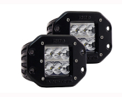 D Series, D2-Wide Flush Mount (Pair)