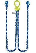 "GrabIQ, G100 1/2"", 12' Dual Head Chain W/ Cradle Grab Hooks"
