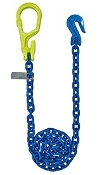 "GrabIQ, G100 1/2"", 12' Single Head Chain W/Non-Cradle Grab Hook"