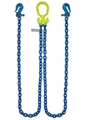 "GrabIQ, G100 1/2"", 12' Double Chain W/Twist Lock Cradle Grab"
