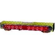 "17"" Wireless Tow Light, Yellow Diamond Plate Finish"