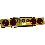 "36"" Wireless Truck Bar, Yellow Diamond Plate Finish"