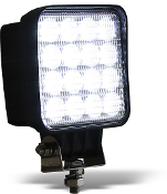 Square Clear LED Flood Light, 12-48V, 3,120 Lumens